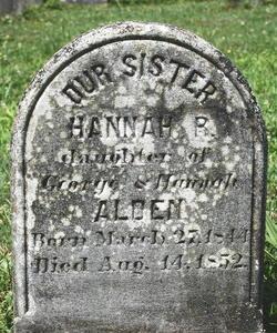 Hannah R Alden