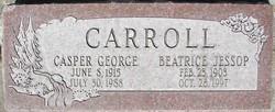 Beatrice <i>Jessop</i> Carroll