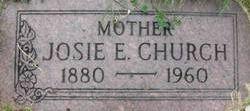 Josie Evelyn <i>Williams</i> Church