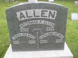 Waterman P Allen