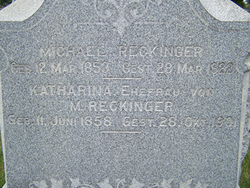 Katherine <i>White</i> Reckinger