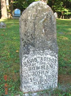 David Adison Bowman