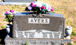 Ora Myrtle <i>Shipman</i> Ayers
