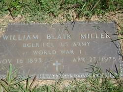 William Blair Miller