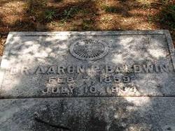 Dr Aaron P. Baldwin