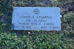 Louis E Chapple