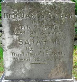 Sarah M <i>Alden</i> Dunbar