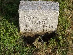 Mary Ann George