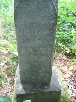 Mary <i>McNames</i> Burgess
