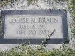Mrs Louise <i>Penner</i> Braun
