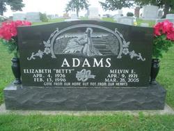 Elizabeth Betty <i>Sturwold</i> Adams