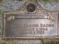Ouida <i>Dasher</i> Brown