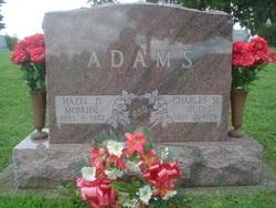 Hazel D. <i>McBride</i> Adams