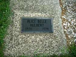 Alice Belle <i>Hendry</i> Hulbert