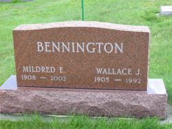 Mildred E. <i>Harper</i> Bennington