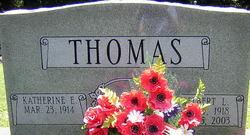 Delbert L Thomas