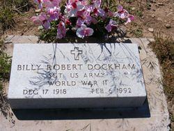 Sgt Billy Robert Dockham
