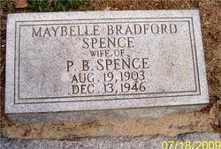 Maybelle <i>Bradford</i> Spence