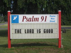 Psalm 91 Cemetery