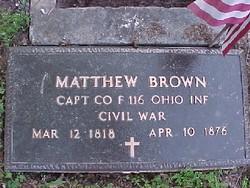 Capt Matthew Brown