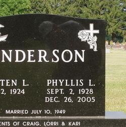 Phyllis L. <i>Gerland</i> Anderson