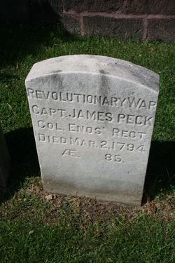 Capt James Peck