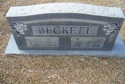 Martha Virginia <i>Caviness</i> Beckett