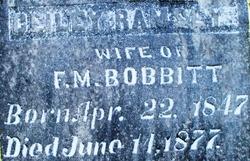Celia E <i>Ramsey</i> Bobbitt