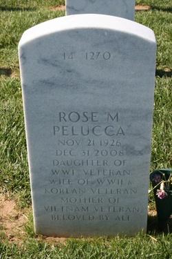 Rose Marie <i>Rumley</i> Pelucca