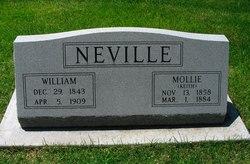 Mary Ann Mollie <i>Keith</i> Neville