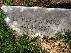 Luther William Alford