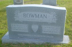 Claude B Bowman