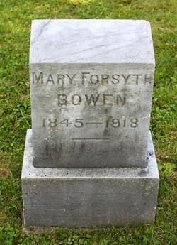 Mary Forsyth <i>Forsyth</i> Bowen