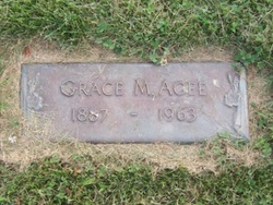 Grace M <i>Foster</i> Agee