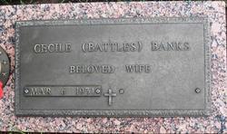 Cecile <i>Battles</i> Banks