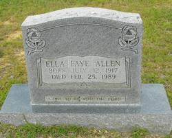 Ella Faye Allen
