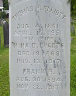 Mima B. <i>Evarts</i> Elliott