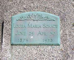 Louisa Maria <i>Lah</i> Schade