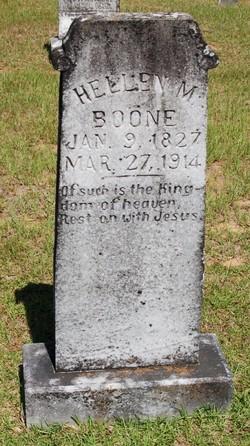 Hellen Margaret <i>Sartin</i> Boone