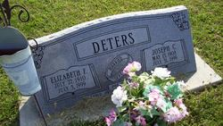 Elizabeth J <i>Fangman</i> Deters