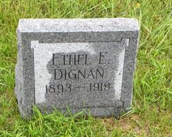 Ethel E Dignan