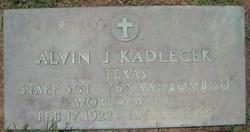 Alvin J Kadlecek
