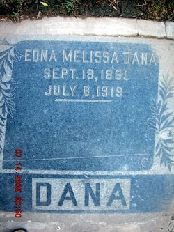 Edna Melissa <i>Hunsaker</i> Dana