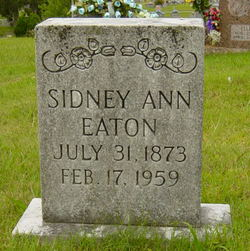 Sidney Ann Eaton