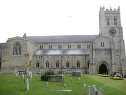 Christchurch Priory Churchyard
