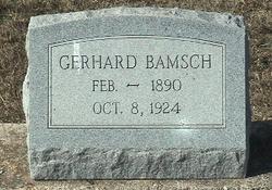 Gerhard Bamsch