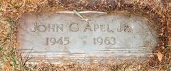 John G Apel, Jr