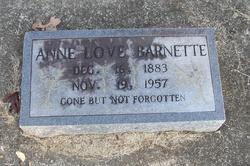 Annie <i>Love</i> Barnett