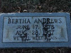 Bertha Jane Betty <i>Bray</i> Andrews
