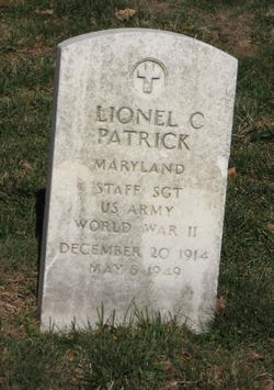 Sgt Lionel Cloud Patrick